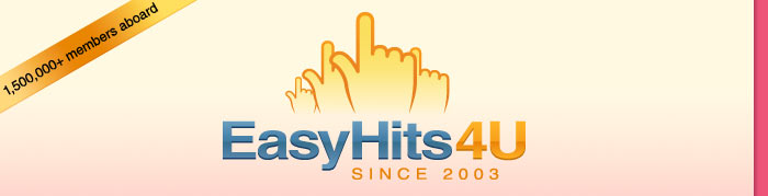 EasyHits4U - Real _1:1_ Traffic Exchange Ratio! No limits to surf and earn!