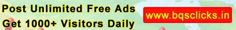 Post Unlimited Free Ads & get 1000+ Daily.