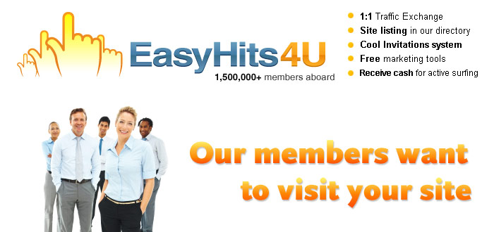 Our members want to visit your site