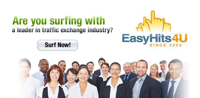 Are you surfing with a leader in traffic exchange industry?