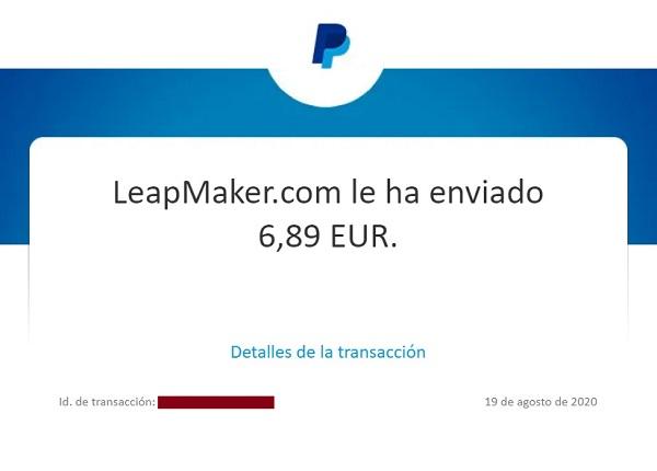 THE SUPER FLOW: Recibido 9º pago (6,89 euros)_  INVERTIDO: $8,00 _ TOTAL RECIBIDO: 67,58 euros 87820